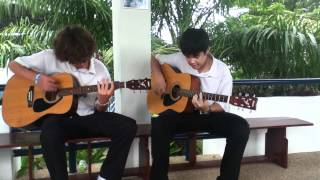 """Video thumbnail of """"Alesana - The Thespian Acoustic Guitar Cover"""""""