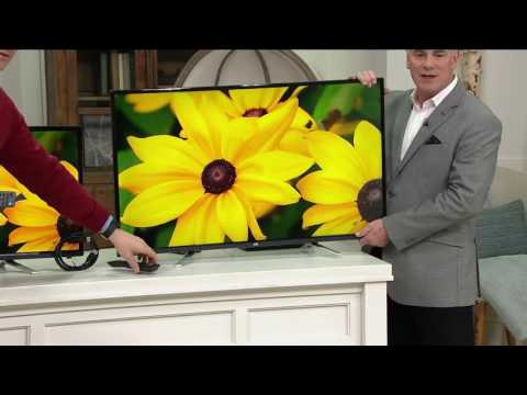 """Choice of JVC 32"""" or 42"""" LED HDTV w/ HDMI Cable & 2 year Warranty on QVC"""