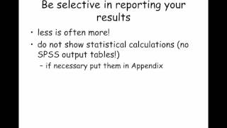 how to write a scientific report