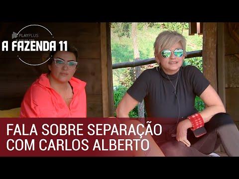 Andréa Nóbrega desabafa sobre separação com Carlos Alberto | A Fazenda