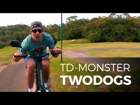 Vídeo - Patinete Elétrico Two Dogs TD Monster 1600W