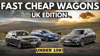 FIVE Cheap and Fast Performance Estate Cars! (Under £10k)