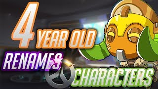 4 Year Old Renames Overwatch Characters [2] (Includes Orisa)(Anniversary Update)