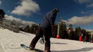 preview picture of video 'Riding with Probe Miguel at Valdelinares Ski Resort'