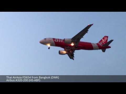 Planespotting at Tan Son Nhat Int'l Airport RWY 25R [HD]