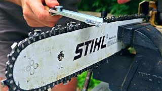 How to Sharpen a Chainsaw?