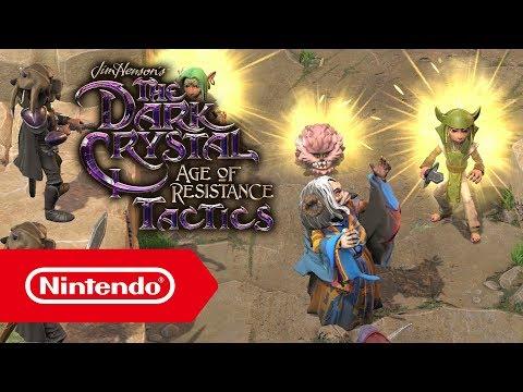 Bande-annonce du Nintendo Direct de Dark Crystal Tactics : Le temps de la résistance