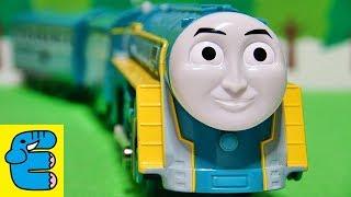 プラレールトーマス コナー改造 Plarail Thomas Upgrade Connor The Blue Streamlined Engine [English Subs]