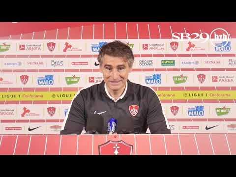 Brest - St-Étienne | Conférence de presse d'avant-match