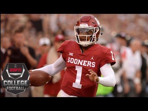 College Football Highlights Kyler Murray Oklahoma Survive Challenge