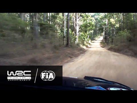 WRC - Kennards Hire Rally Australia 2016: ONBOARD Mikkelsen SS19