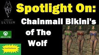 Skyrim (mods) - Jade - Spotlight On: Chainmail Bikini's of The Wolf | 7B Oppai