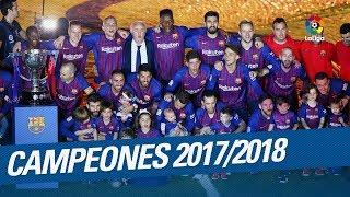 FC Barcelona - Campeón LaLiga Santander 2017/2018
