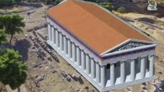 Ίσθμια Ναός του Ποσειδώνα.Εδώ ο Μέγας Αλέξανδρος ανακηρύσσεται αρχιστράτηγος όλων των Ελλήνων.
