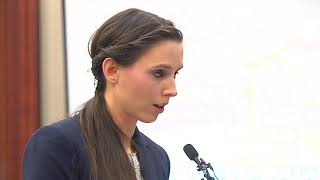 RAW VIDEO: Rachael Denhollander delivers powerful final victim speech to Larry Nassar