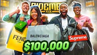 SIDEMEN SPEND $100,000 ON FANS