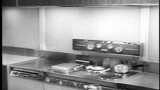 Kitchen Of The Future 1950s