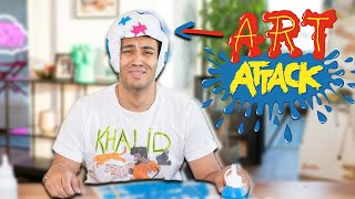 IDIOT VERSUCHT ART ATTACK TUTORIAL! | Dillan White