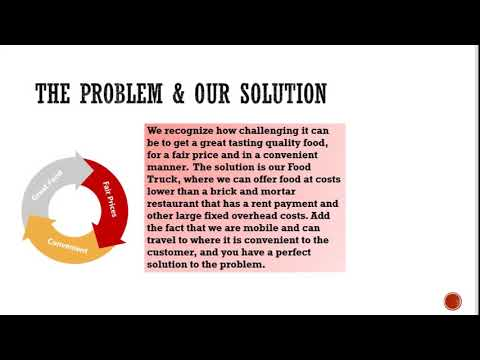 , title : 'Food truck pitch deck ppt - PowerPoint presentation template
