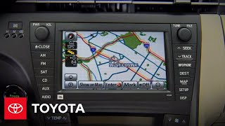 2010 Prius How-To: NavTraffic™   Toyota