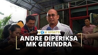 Andre Rosiade Diperiksa Mahkamah Kehormatan Gerindra soal Penggerebekan PSK