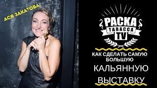 Ася Закатова ⭐Как сделать самую большую кальянную выставку⭐Hookah Club Show