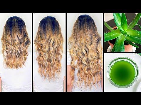 Eu usei aloe vera no cabelo e o resultado foi esse!