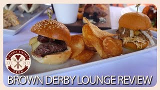 Brown Derby Lounge Review   Disney Dining Show   01/11/18
