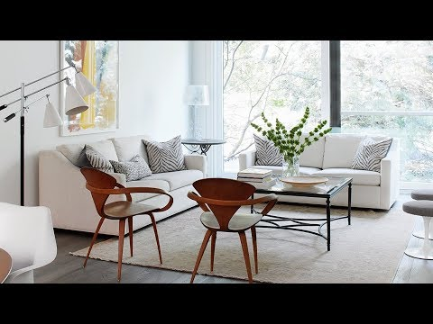 Interior Design — Pared-Down Minimalist House