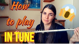 All About Flute Intonation | How To Play In Tune