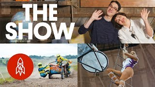 Cruising Sidecar, Flying Trapeze and Diving as Therapy  | THE SHOW, Episode 16
