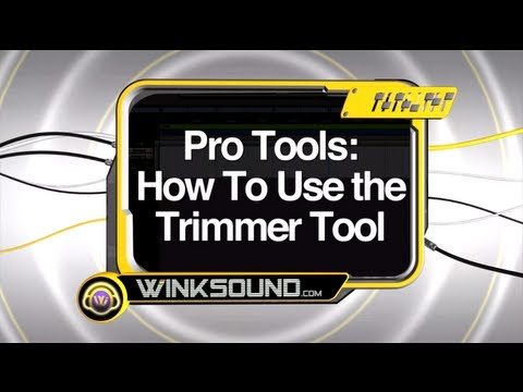 Pro Tools: How To Use the Trimmer Tool | WinkSound