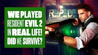 We Played Resident Evil 2 In Real Life! - Aoife Tackles The Resident Evil 2 Escape Room