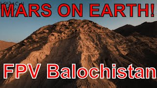 Skulls on the mountains   Beautiful Balochistan FPV Pakistan
