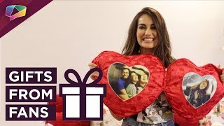 Surbhi Jyoti Unwraps Gifts From Her Fans