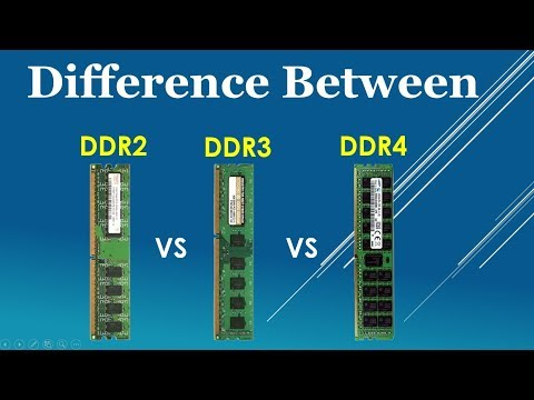 DDR2 vs DDR3 vs DDR4 Explained Feature and Identify comparison