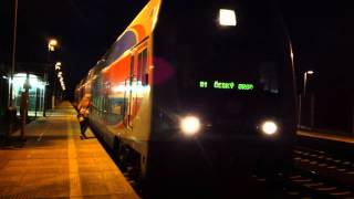 preview picture of video '[ČD] Praha suburban train Esko Line S1 train to Český Brod calling at...'