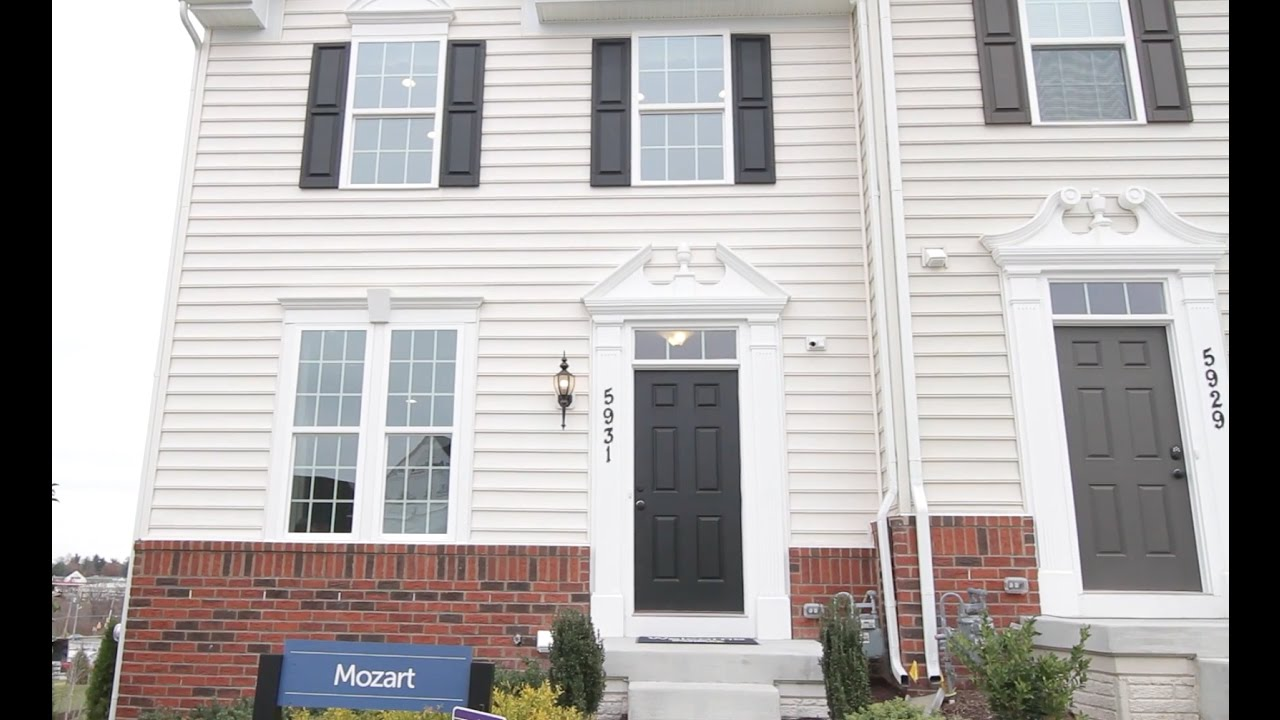 New Construction Townhomes For Sale -Mozart-Ryan Homes