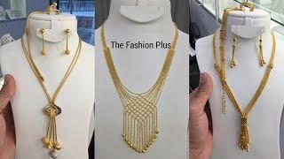 Latest Italian Gold Necklaces Designs