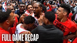 76ERS vs RAPTORS | JAW-DROPPING End to Series Finale! | Game 7