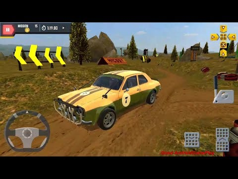 4X4 Offroad Parking Sim 2017 - New Vehicle CLASSIC RALLY CAR Unlocked Android GamePlay FHD