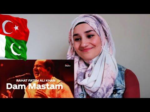 TURKISH REACTION: Coke Studio Season 12   Dam Mastam   Rahat Fateh Ali Khan