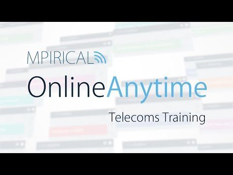 Mpirical OnlineAnytime Telecommunication Courses & Training ...