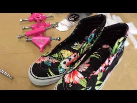Making Vans Roller Skates