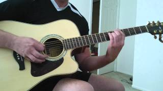 "How to play "" Everlong"" acoustic - by the Foo Fighters"