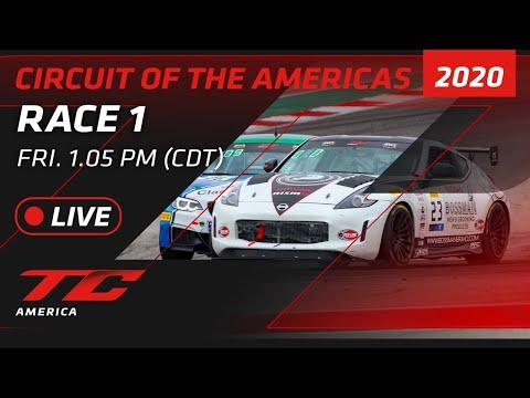 2020年 ブランパンGTワールドチャレンジ・アメリカ(COTA)TCR / TC / TCA レース1 レースライブ配信動画