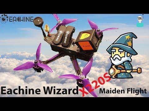 eachine-wizard-x220s--maiden-flight--final-thoughts