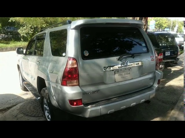 Toyota Surf SSR-X 3.0D 2004 for Sale in Islamabad