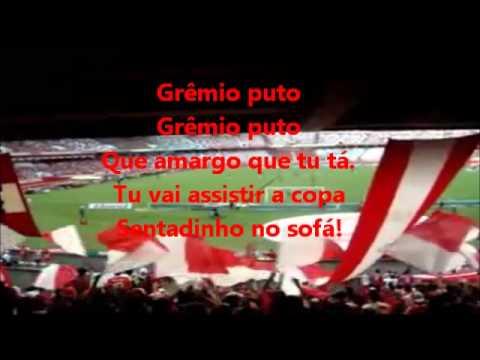 """Grêmio Puto"" Barra: Guarda Popular • Club: Internacional • País: Brasil"