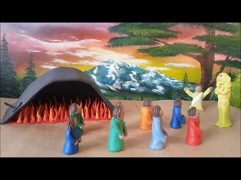 The fiery furnace Claymation ( Shadrach, Meshach, and Abednego )
